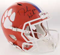 Deshaun Watson Signed Clemson Tigers Full-Size Speed Helmet (Beckett Hologram)
