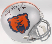 Khalil Mack Signed Bears Full-Size Helmet (JSA COA)