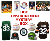 Hall of Fame Enshrinement Mystery Box - Series 6 (Limited to 75) (4 Autographs/ 2 or More Hall of Famers Per Box)