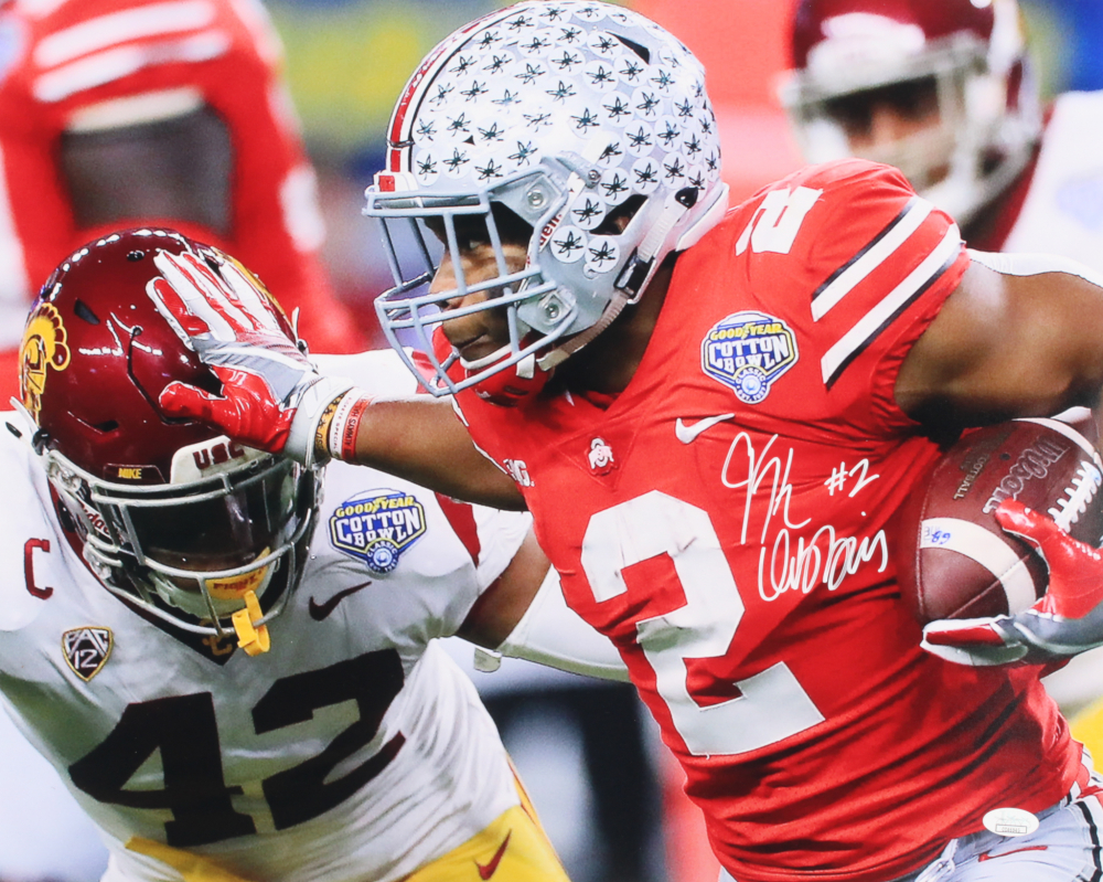J.K. Dobbins Signed Ohio State Buckeyes 16x20 Photo (JSA COA) at  PristineAuction.com f4b2a7acc