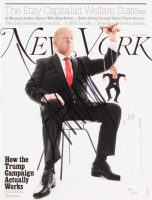 Donald Trump Signed 2016 New York Magazine (JSA LOA)