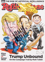 Donald Trump Signed 2016 Rolling Stone Magazine (JSA LOA) at PristineAuction.com