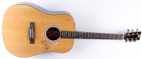 Mick Jagger Signed Full-Size Acoustic Guitar (Beckett LOA)