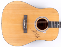 Mick Jagger Signed Full-Size Acoustic Guitar (Beckett LOA) at PristineAuction.com