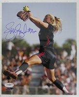 Jennie Finch Signed Team USA 8x10 Photo (JSA COA)