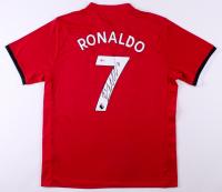 Cristiano Ronaldo Signed Manchester United Adidas Soccer Jersey (Beckett COA)