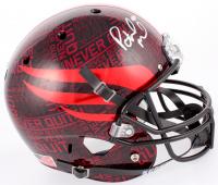 Patrick Mahomes Signed Texas Tech Red Raiders Full Size Helmet (JSA COA)