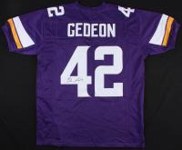 Ben Gedeon Signed Vikings Jersey (JSA Hologram)