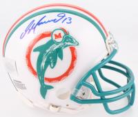Dan Marino Signed Dolphins Mini-Helmet (Marino Hologram)