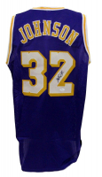 Magic Johnson Signed Los Angeles Lakers Jersey (JSA COA)