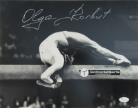 Olga Korbut Signed 11x14 Photo (JSA COA)