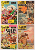 Lot of (4) 1950-1967 Classics Illustrated Comic Books