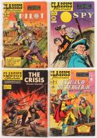 Lot Of (4) 1948-1958 Classics Illustrated Comic Books