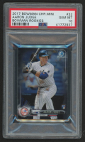 2017 Bowman Chrome Mini #32 Aaron Judge (PSA 9)