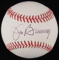 Jim Bunning Signed OAL Baseball (JSA COA)