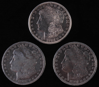 Lot of (3) Morgan Silver Dollars with 1888-O, 1891. & 1921-S