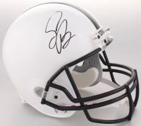 Saquon Barkley Signed Penn State Nittany Lions Full-Size Helmet (Beckett COA)