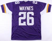 Trae Waynes Signed Vikings Jersey (TSE COA)