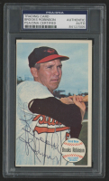 Brooks Robinson Signed 1964 Topps Giants #50 (PSA Encapsulated)