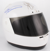 NASCAR Full-Size Helmet Signed by (3) with Dale Earnhardt Jr., Bill Elliott & Jimmie Johnson (JSA ALOA) at PristineAuction.com