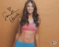 Samantha Harris Signed 8x10 Photo (Beckett COA)