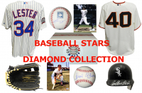 Baseball Diamond Collection Mystery Box – Series 1 (3 Autograph Baseball Collectibles Per Box)