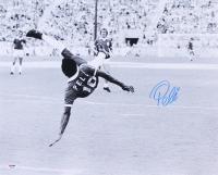 "Pele Signed Brazil ""Bicycle Kick"" 16x20 Photo (PSA COA)"