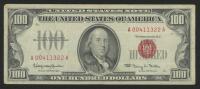 1966 $100 One Hundred Dollars U.S. Legal Tender Note