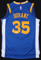 Kevin Durant Signed Nike Warriors Jersey (JSA COA)