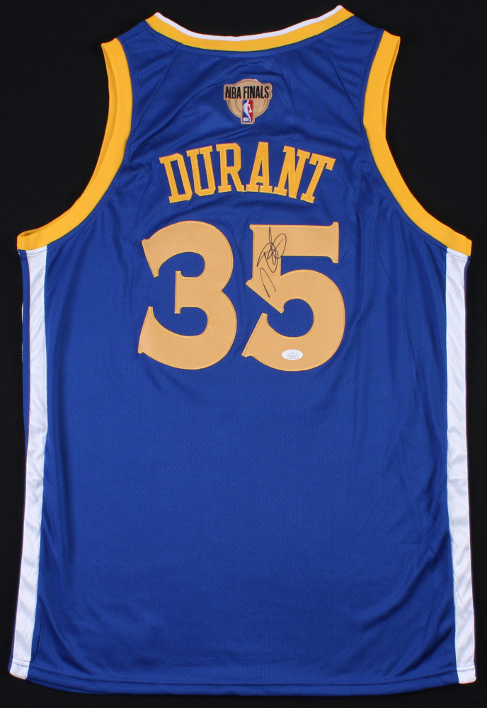 2af6484d7 Kevin Durant Signed Nike Warriors NBA Finals Jersey (JSA COA)