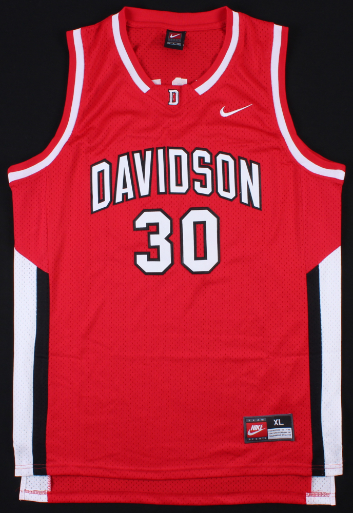 5237de3223cc Stephen Curry Signed Nike Davidson Wildcats Jersey (JSA ALOA) at  PristineAuction.com