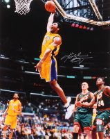 Kobe Bryant Signed Lakers 16x20 Photo (PSA COA)