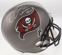 Mike Alstott Signed Buccaneers Full-Size Helmet (Beckett COA)