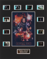 """""""Rogue One: A Star Wars Story"""" 8x10 Custom Matted Original Film Cell Display"""