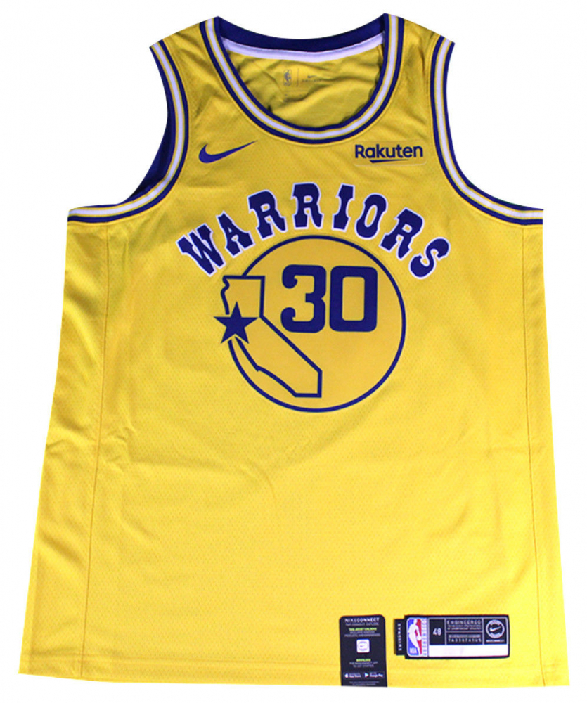 3de79b2fb20d Stephen Curry Signed Warriors Nike Jersey (Steiner COA) at  PristineAuction.com