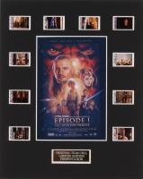 """Star Wars: Episode I – The Phantom Menace"" 8x10 Custom Matted Original Film Cell Display"