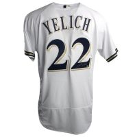Christian Yelich Signed Authentic Majestic Brewers Jersey (Steiner COA) at PristineAuction.com