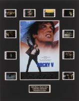 """Rocky V"" 8x10 Custom Matted Original Film Cell Display"