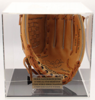 Derek Jeter Signed Rawlings Baseball Glove with Display Case (JSA LOA)