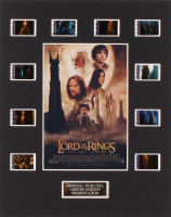 """""""The Lord of the Rings: The Two Towers"""" 8x10 Custom Matted Original Film Cell Display"""