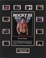 """Rocky III"" 8x10 Custom Matted Original Film Cell Display"