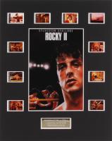 """Rocky II"" 8x10 Custom Matted Original Film Cell Display"