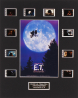 """""""E.T. the Extra-Terrestrial"""" 8x10 Custom Matted Original Film Cell Display"""
