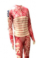 Lindsey Vonn Signed Race-Used Speed Suit (JSA COA) at PristineAuction.com