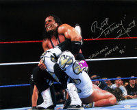 "Bret ""Hitman"" Hart Signed WWE 16x20 Photo Inscribed ""Iron Man Match '96"" (JSA COA)"