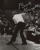 Bob Knight Signed Indiana Hoosiers 8x10 Photos (Schwartz COA)