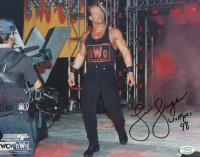 "Lex Luger Signed WWE 8x10 Photo Inscribed ""Wolfpac 98"" (SOP COA)"
