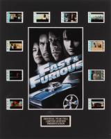"""Fast & Furious 4"" 8x10 Custom Matted Original Film Cell Display"