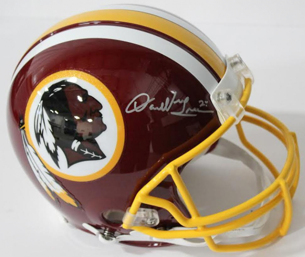 Darrell Green Signed Redskins Authentic On-Field Full-Size Helmet (Beckett  COA) 0f0ba4ee0