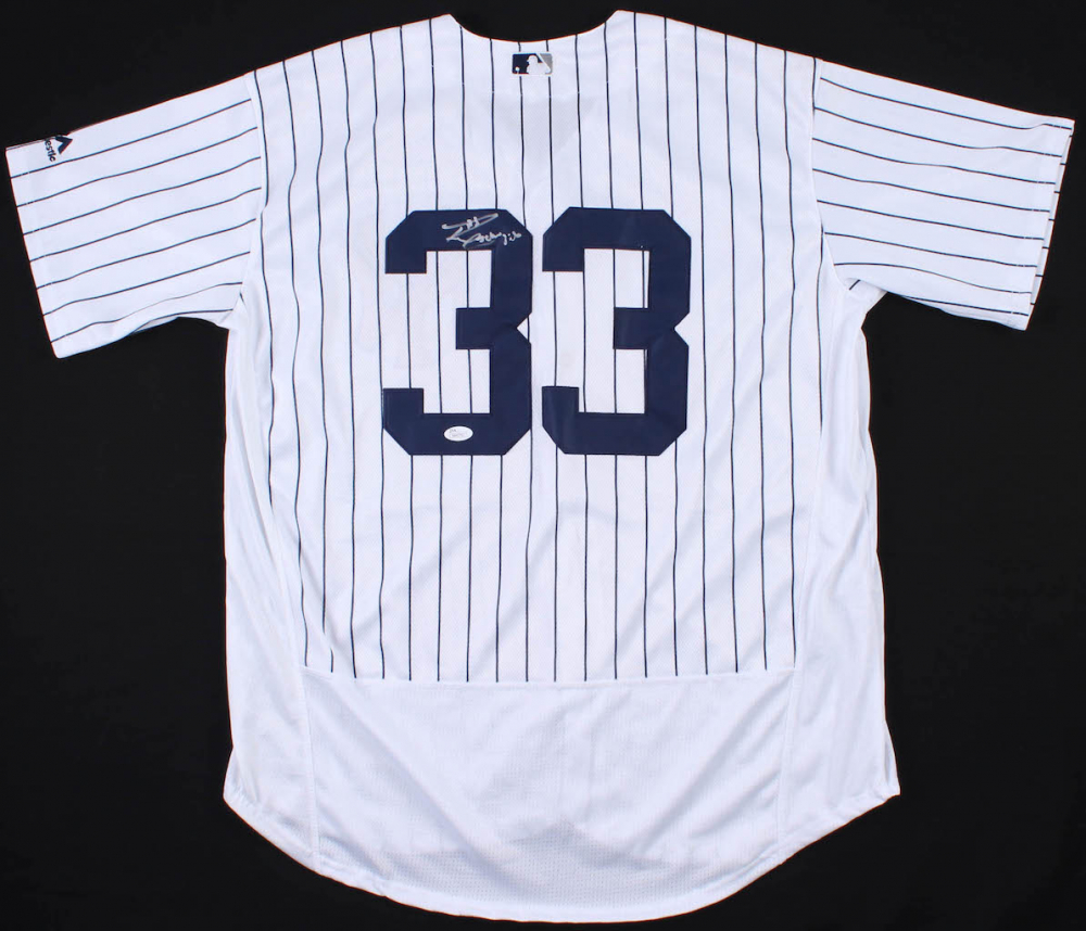 6a0cf9384 Russell Wilson Signed Yankees Jersey (JSA COA) at PristineAuction.com